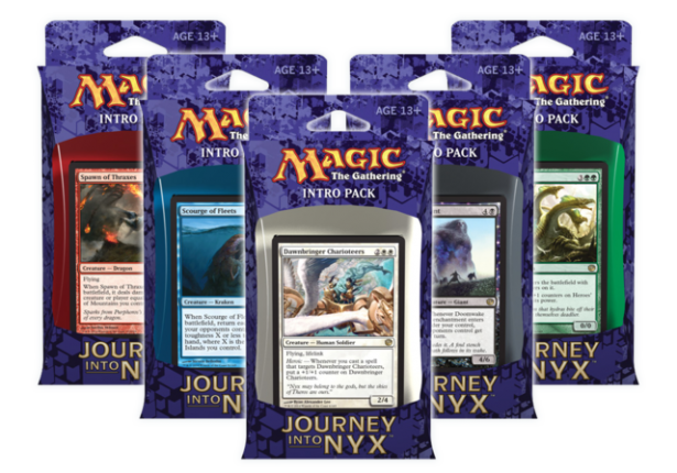 Journey into Nyx Intro Packs Image Deck Decklisten Reise nach Nyx Einsteiger Anfänger