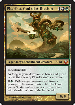 Journey into Nyx Spoiler Pharika God of Affliction Visual Spoiler God
