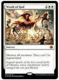From the Vault Annihilation Spoiler: Wrath of God, Zorn Gottes, Card Image, New Cardframe, Artwork