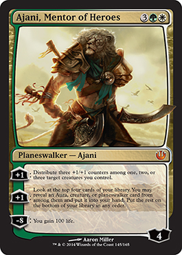 journey into nyx visual spoiler ajani mentor of heroes