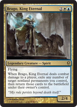 Magic the Gathering, mtg, Conspiracy, Visual Spoiler, Brago King Eternal, CNS, #MTGCNS, Verschwörung