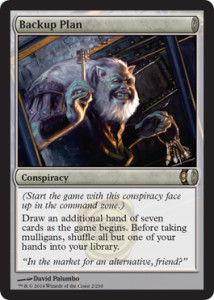 mtg conspiracy visual spoiler CNS #MTGCNS dragon backup plan