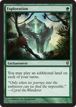 mtg conspiracy visual spoiler CNS #MTGCNS exploration