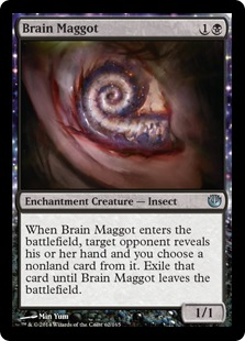 Journey into Nyx Spoiler Brain Maggot Hirnmade Card Image