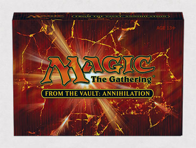magic the gathering from the vault annihilation spoiler box #MTGANH