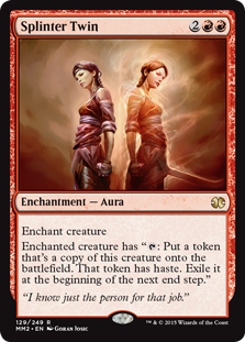 Magic Modern Masters 2015 Spoiler Splinter Twin