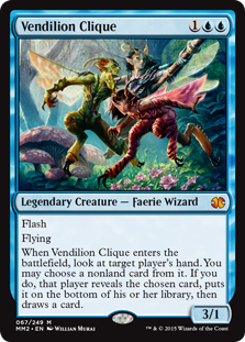 Magic Modern Masters 2015 Spoiler Vendilion Clique